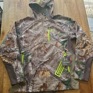 Under Armour Scent Control Hooded Barrier Jacket R